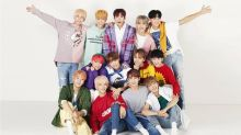 K-pop boy band Seventeen performing in Singapore in September