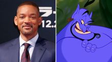 First look at Will Smith as Aladdin's Genie
