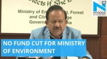 Fund allocations for key environmental projects increased, says Dr. Harsh Vardhan