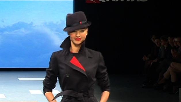 New Qantas uniform revealed