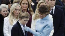 First Lady erbost: Trumps Sohn in Kongress-Anhörung genannt