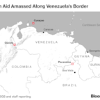 Map: Foreign Aid Is Being Stockpiled on Venezuela's Border