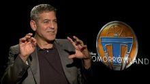 'Tomorrowland' Star George Clooney: Why I Want a Flying Car