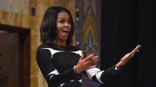Michelle Obama trifft Mädchen, das ihr Porträt bewunderte