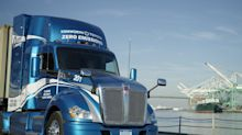 Paccar rolls out zero emission electric Kenworth truck with Toyota at CES
