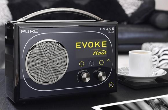 Pure gets with the internet radio game, debuts EVOKE Flow