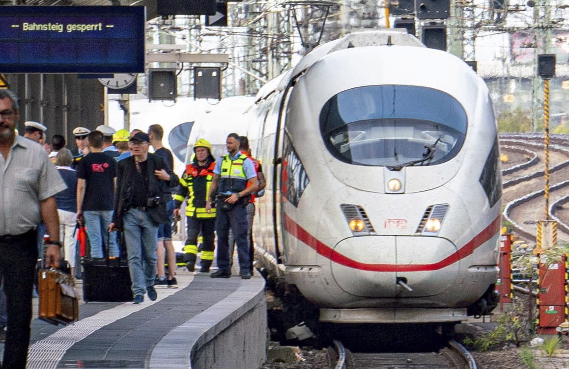 Boy dies after being pushed in front train in Germany