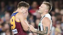 Collingwood resume rise to thrash disappointing Lions