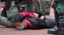 Hong Kong police fire tear gas, water cannon at protesters