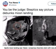 Fox News Should Shut the Hell Up About NASA Faking the Moon Landing