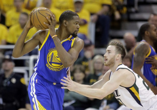 Kevin Durant has agreed to terms, and Gordon Hayward looks set to join him soon. (AP)