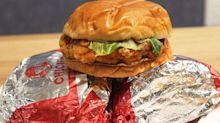 The #1 Tastiest Fast-Food Chicken Sandwich