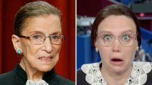 Kate McKinnon Calls Ruth Bader Ginsburg a 'Real-Life Superhero' and 'Robed Crusader'