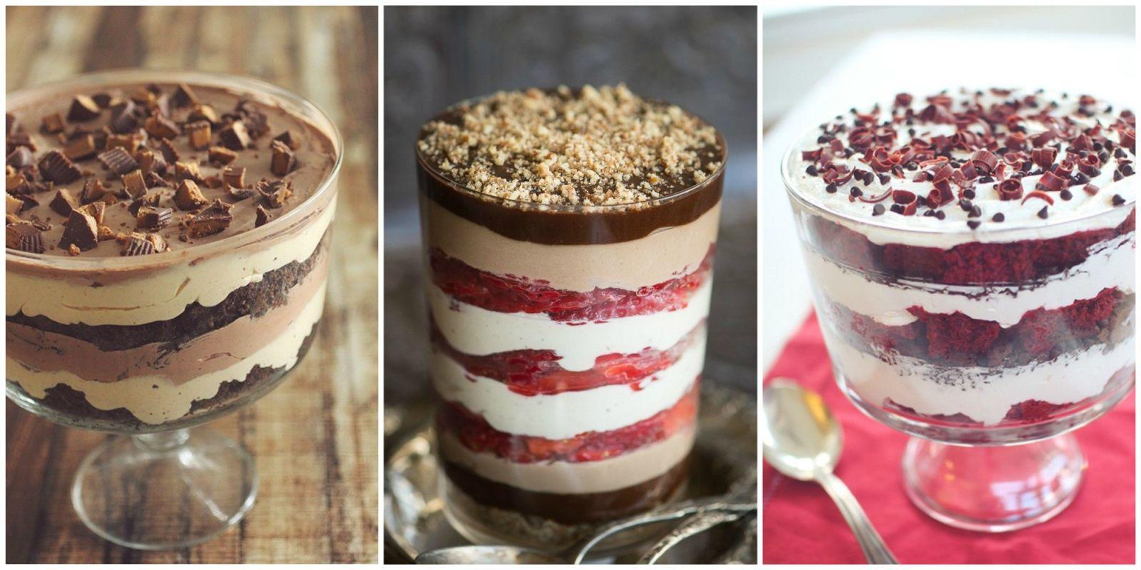 10 healthy trifle recipes that will make your mouth water for Quick and easy trifle dessert recipes