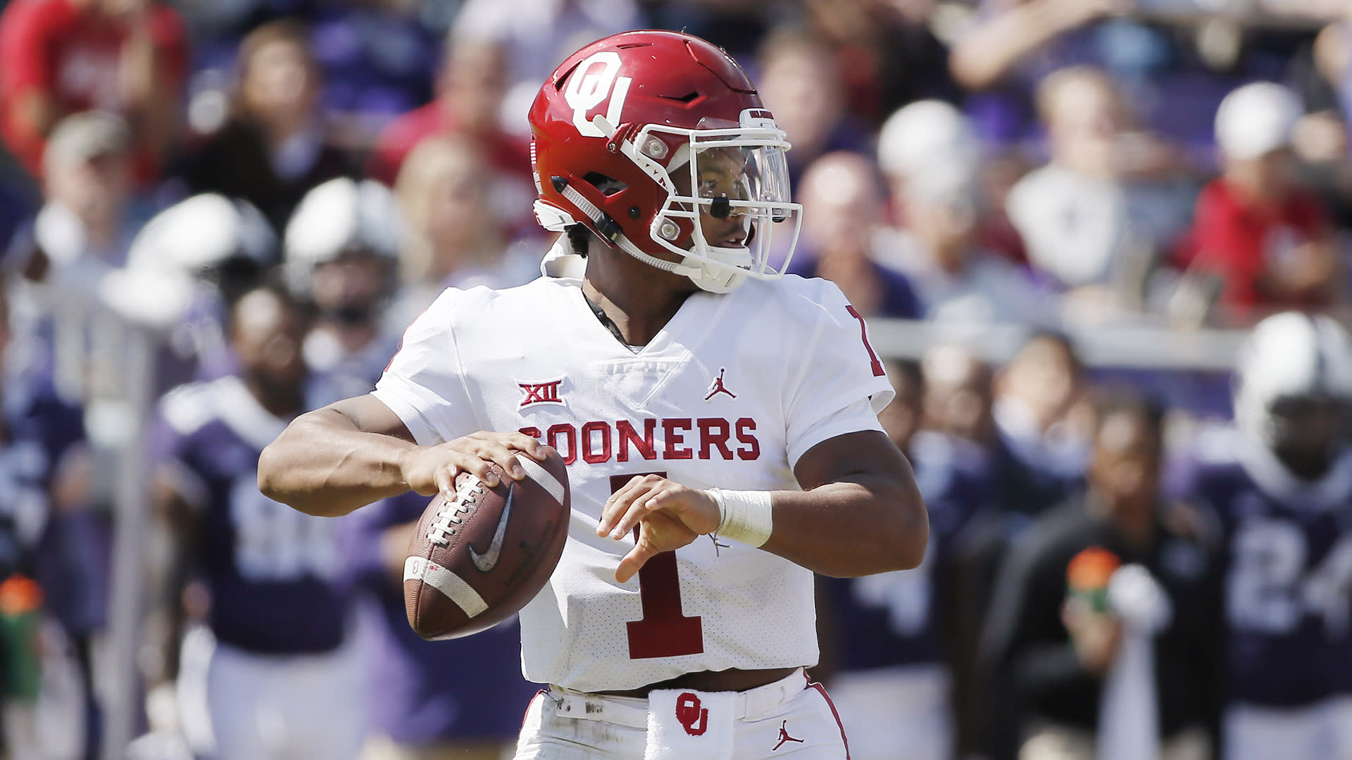 Top Heisman Candidates 2018 >> Where does Kyler Murray stand in the Heisman race? [Video]