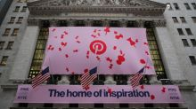 Pinterest shares surge as revenue, user adds beat estimates