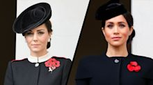 Why Meghan didn't stand on the same balcony as Kate during Remembrance Day service