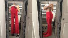 Shopping-Fail: Bei dieser Hose sieht das Netz rot!
