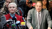 Rose McGowan says 'even' Harvey Weinstein 'deserves a fair trial' as jury selection begins