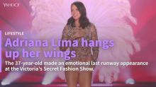 Adriana Lima retires from the Victoria's Secret Fashion Show