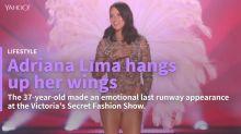 Adriana Lima retires from the Victoria's Secret Fashion Show