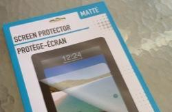 Dollar Store Accessories: Screen Protector