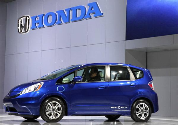 Honda Fit EV rated at 118 MPGe, will get you 82 of those on one charge (update)