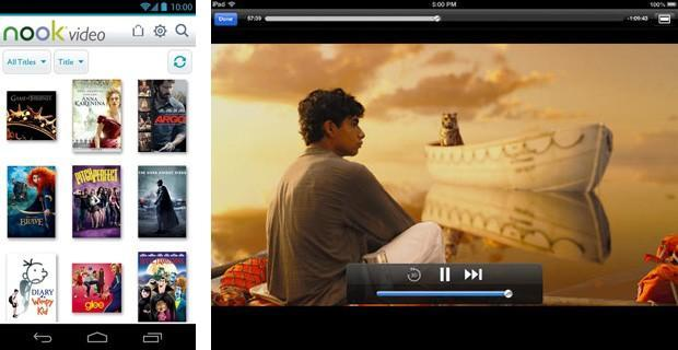 Barnes & Noble posts Nook Video apps for Android, iOS and Roku