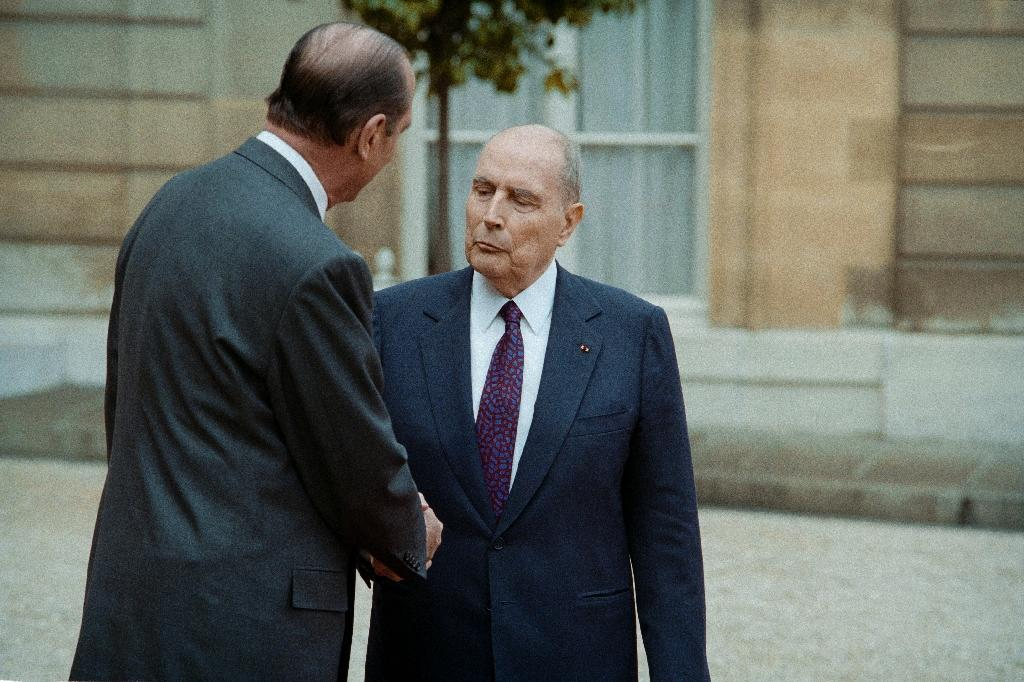 Former president Francois Mitterrand died in 1996 so his archives should become available in 2021 (AFP Photo/PATRICK KOVARIK)