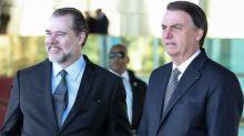 Como aproximação com Bolsonaro e inquérito polêmico fragilizaram STF na gestão Toffoli, segundo juristas