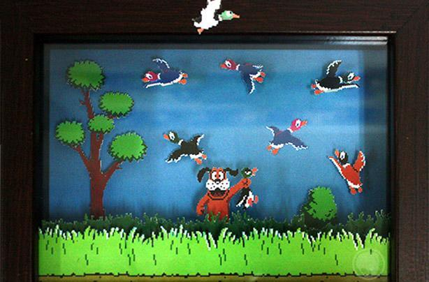 Nintendo fan-crafted art charity benefits Morgan Autism Center