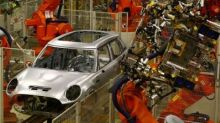 Car production falls for first time since 2009