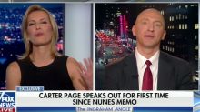 Carter Page speaks out — and struggles — after explosive memo
