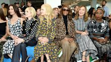 The Best Celebrity Sightings at New York Fashion Week