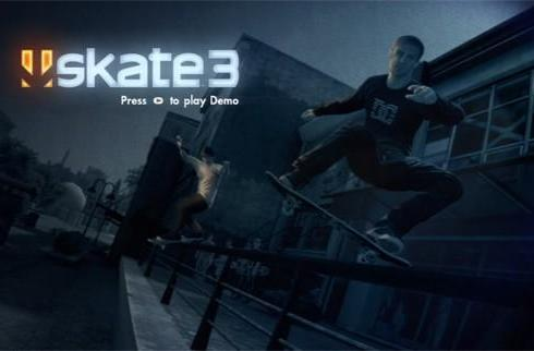 Skate 3 demo now on Xbox Live for all Gold members