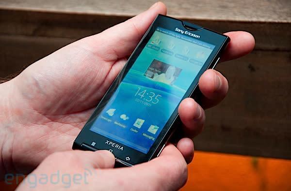 Sony Ericsson XPERIA X10 announced, we go hands-on
