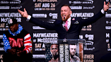 Las Vegas sportsbooks could lose $40 million if Conor McGregor upsets Floyd Mayweather