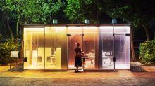 Los nuevos baños públicos de Tokio son transparentes