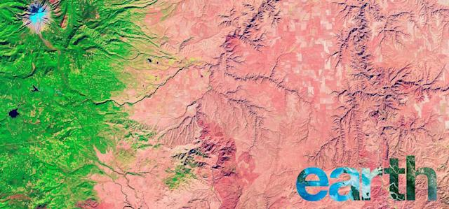 NASA's free interactive photo book shows the abstract beauty of Earth