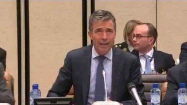 Rasmussen Says ISAF 'On Track' for Security Handover