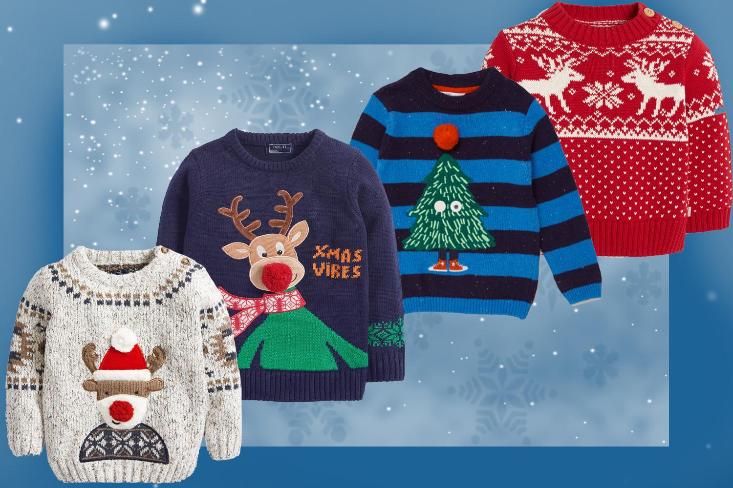 Best Christmas jumpers for children 2020: festive knits to get into the seasonal spirit