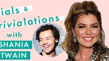Here's what Shania Twain thinks about Harry Styles being her biggest fan