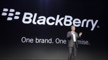 BlackBerry surges after earnings report