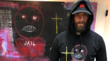 Ville Leino depicts third season with Sabres as 'jail' on clothing design