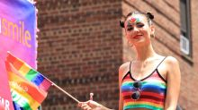 Victoria Justice Rocks NYC Pride in Rainbow Crop Top With White Boots & More Celebs