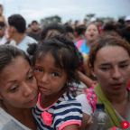 7,500 Caravan Migrants Continue March to U.S.: 'Our Strength Is Greater Than Trump's Threats'