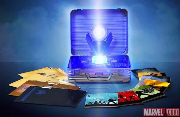 Marvel Cinematic Universe 10-disc Blu-ray box unveiled, Tesseract and all
