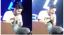Separado, Jorge chora ao cantar música que escreveu para a ex-mulher
