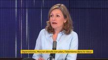 """""""Séparatisme"""" : """"Dans le discours du président, il y avait beaucoup de solutions et de propositions"""", salue la députée LREM Yaël Braun-Pivet"""