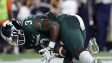 Michigan State RB LJ Scott arrested after 7th driver's license violation (Updated)